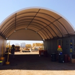 shade dome installed wheatstone