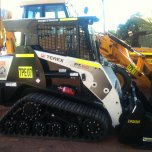 TEREX PT - 50 SKIDSTEER WITH ATTACHMENTS