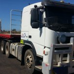 VOLVO PRIME MOVER & DROPDECK TRAILER (45ft) DOT ACCREDITED